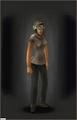 Combat Helmet - Woodland equipped female