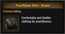Practitioner Shirt - Brown.png