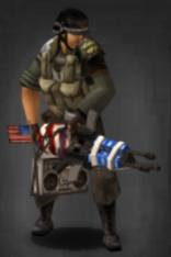 Survivor with The 2nd Amendment