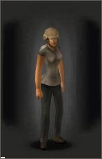 Combat Helmet - Tan equipped female.png