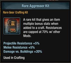 Tlsdz crafting kit - rare aggressor kit.png