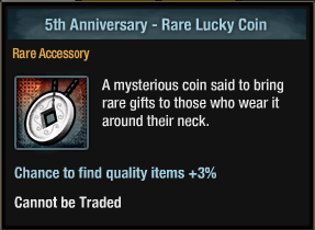 5th Anniversary - Rare Lucky Coin inventory view.png