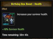 Tlsdz birthday box boost - health