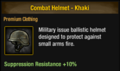 Combat Helmet - Khaki