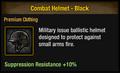 Combat Helmet - Black