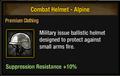 Tlsdz combat helmet - alpine