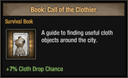 Call of the Clothier