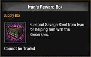 Ivan's Reward Box