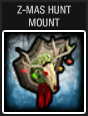 Z-Mas Hunt Mount construction menu icon