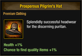 Prosperous Pilgrim's Hat