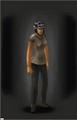 Combat Helmet - Urban equipped female