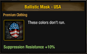 Ballistic Mask - USA