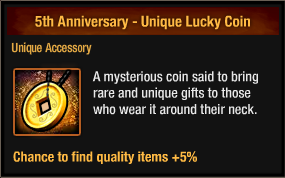 5th Anniversary - Unique Lucky Coin package view.png