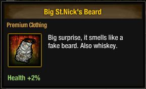 Big St. Nick's Beard