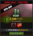 Hunt2500fuel