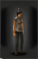 Better Black Birthday Hat equipped female.png