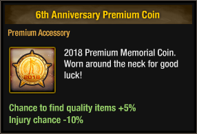 6th Anniversary Premium Coin