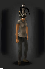 5th Birthday Con Artist Cake Hat equipped female.png