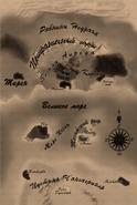 Карта Аркадии времён TLJ