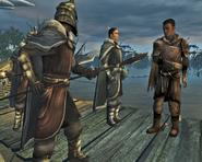 Киан и солдаты Вамона