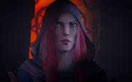 Анна смотрит на смерть Вамона