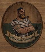 Вывеска соленого морячка