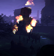 Обитель в огне