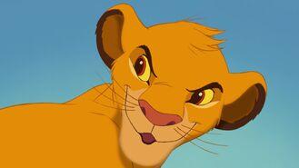 Simba jako lwiątko