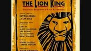 The Lion King Broadway Soundtrack - I Just Can't Wait to be King