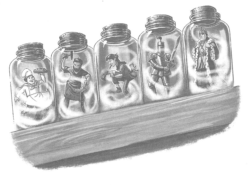 The Souls in the Jars