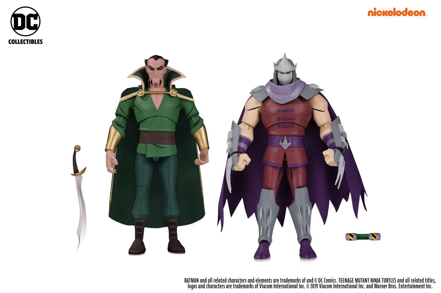 Ra's al Ghul & Shredder (2019 action figure set)