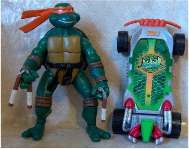 Crashin' Thrashin' Mikey (2004 action figure)