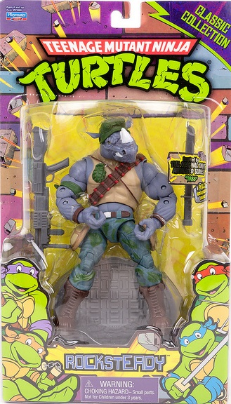 Classic Collection Rocksteady (2013 action figure)