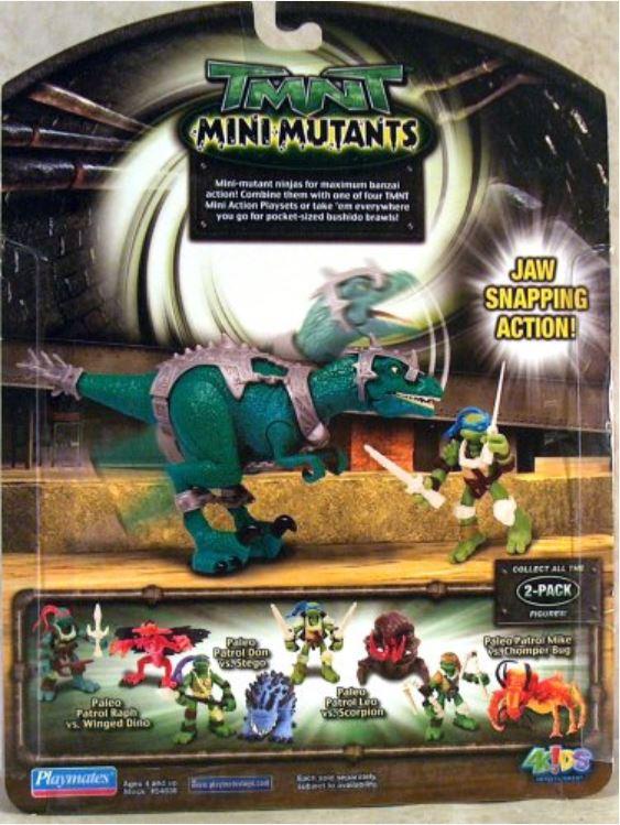 Mini-Mutants Leo vs. Raptor (2008 mini-figures)