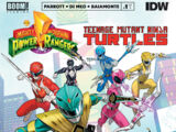 Mighty Morphin Power Rangers/Teenage Mutant Ninja Turtles issue 1
