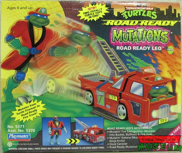 Road Ready Leo (1993 action figure)