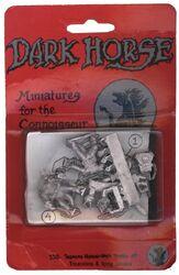 Dark Horse TMNT miniatures Triceratons