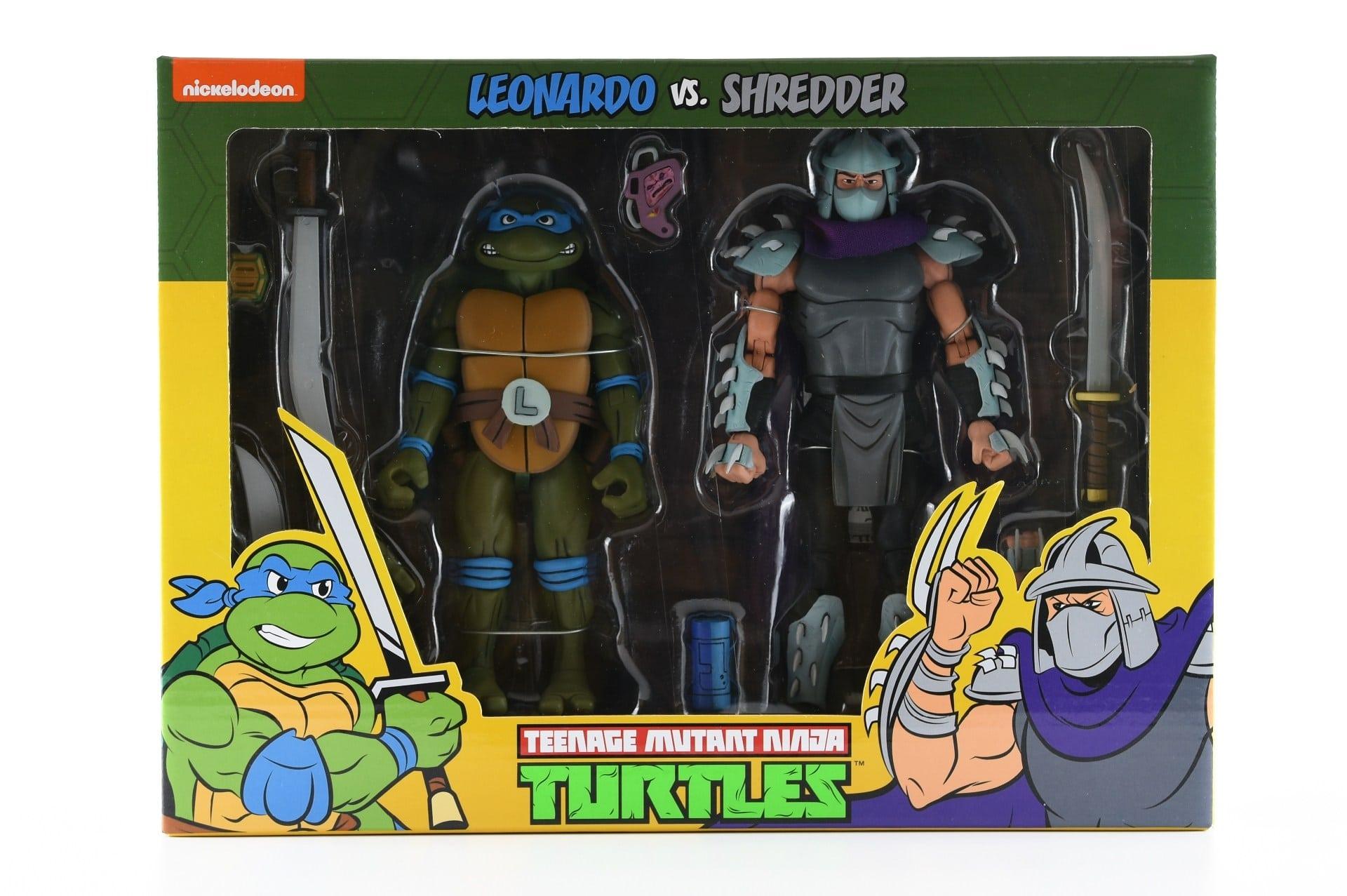 Leonardo vs. Shredder (2019 action figures)