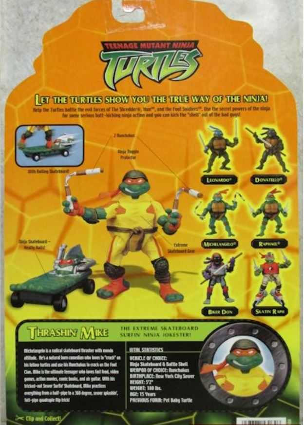 Thrashin' Mike (2003 action figure)