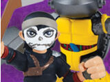 Half-Shell Heroes Casey and Metalhead (2014 action figure set)