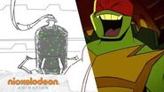 """""""Bug Busters"""" Animatic 1 Rise of the TMNT Nick Animation"""