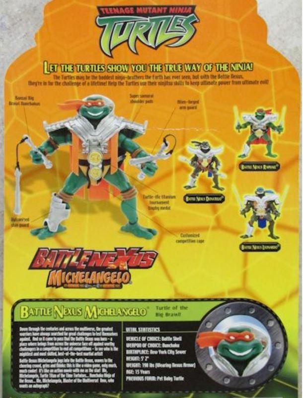 Battle Nexus Michelangelo (2004 action figure)