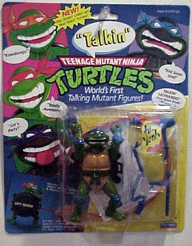 Talkin' Leonardo (1991 action figure)