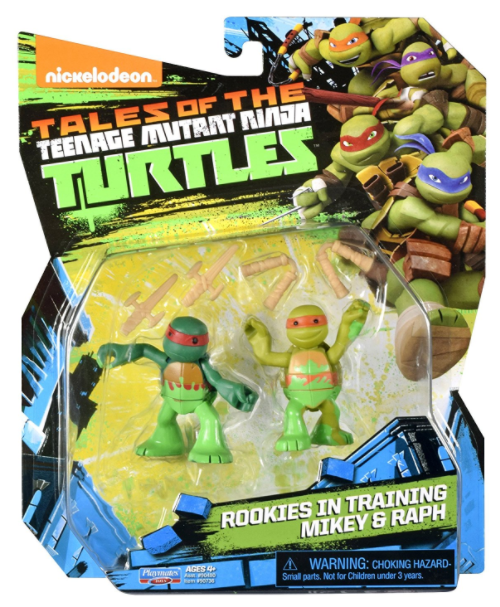 Rookies in Training Mikey and Raph (2017 action figure)