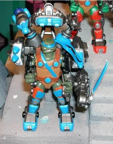 Auto Attack Leonardo (unreleased action figure)