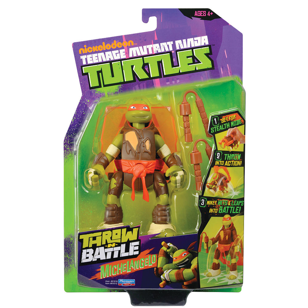 Throw N' Battle Michelangelo (2014 action figure)