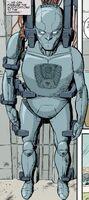 Jonathan Bishop's exo-suit without skin