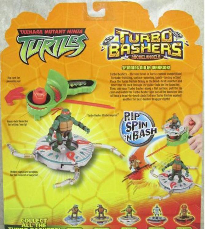 Turbo Bashers Michelangelo