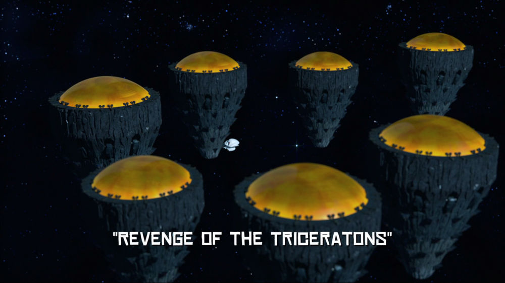 Revenge of the Triceratons
