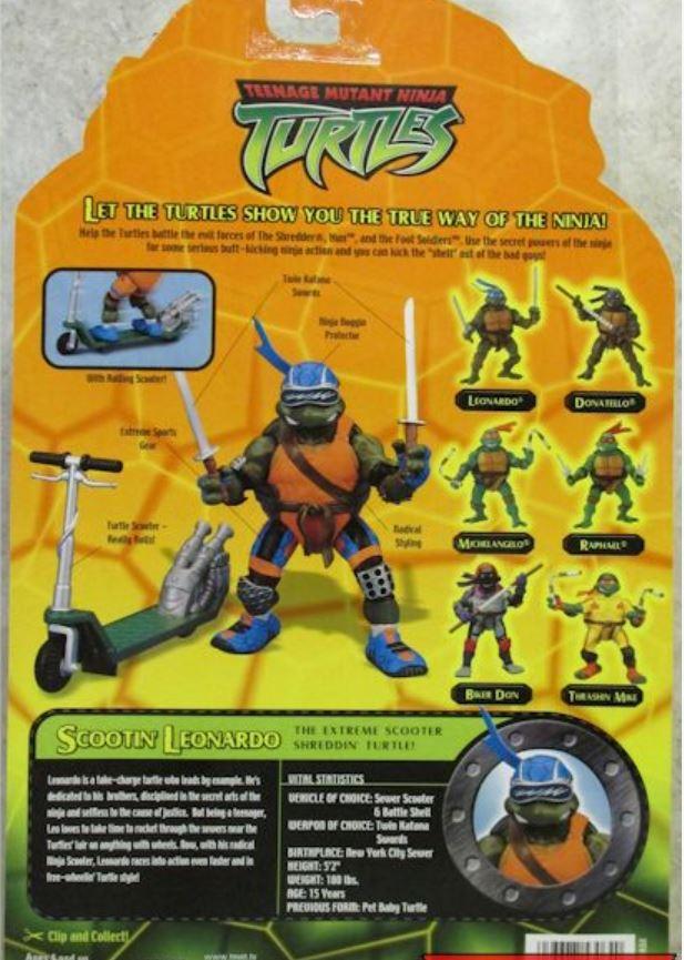 Scootin' Leo (2003 action figure)